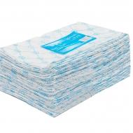 Полотенце большое 45*90 пачка голубой спанлейс 50шт