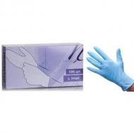 Перчатки нитриловые белые, голубые размеры XS-L 100шт