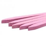 Пемза для натуральных ногтей розовая