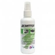 Жидкость ДЕЗИПТОЛ для дезинфекции рук  спрей кожный антисептик 100 мл