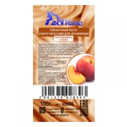 Воск пленочный синтетический для депиляции Персиковое суфле гранулы 100 гр